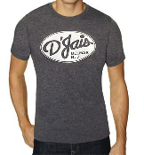 Men's Charcoal Crew D'Jais White Logo