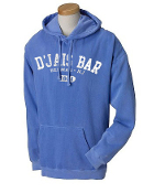 Men's Flo Blue Hooded Sweatshirt