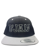 D'Jais Black and Grey City Hunter Hat