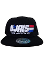 D'Jais Real American Bar Snap Back Black Hat