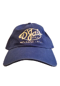 "D'Jais Royal ""Dad"" Hat with White Logo"